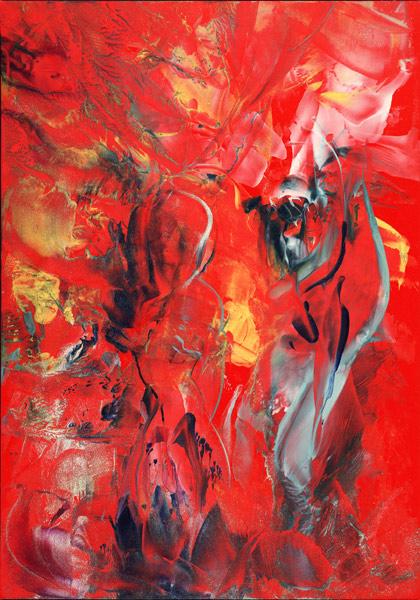 Natalie Dekel - Love - angel and woman, 2009