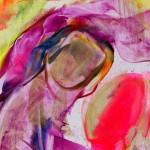 For Mother (detail) - Natalie Dekel, 3 June 2010. Encaustic wax painting.