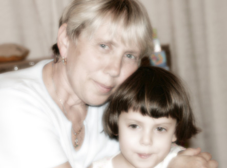 Mom and Yael, 2008