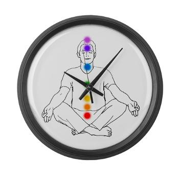 7 Chakras Wall Clock.