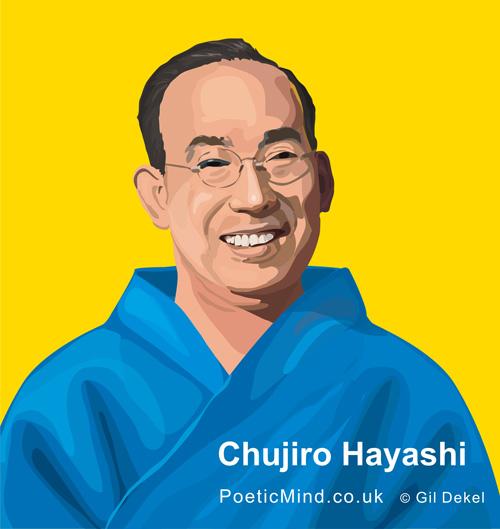 Chujiro Hayashi (Reiki Master. Artwork © Gil Dekel).