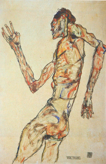 Egon Schiele - The Dancer, 1913