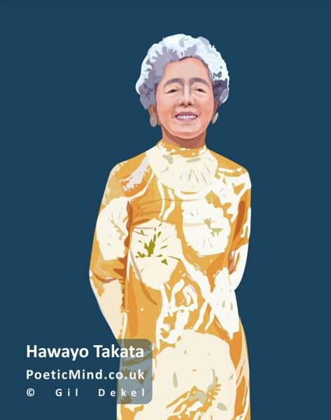 Hawayo Takata, Reiki Master (art: © Gil Dekel)