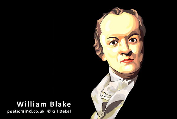 William Blake (portrait © Gil Dekel)