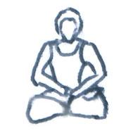 Yoga seated poses - Natalie Dekel.
