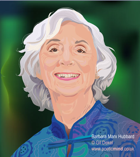 Barbara Marx Hubbard - by © Natalie Dekel, 2011.