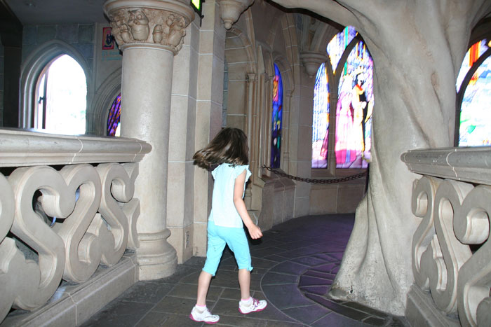 Sleeping Beauty Castle Interior2 DisneyLand Park 18 Aug 2011 (Photo by Gil Dekel) (46)