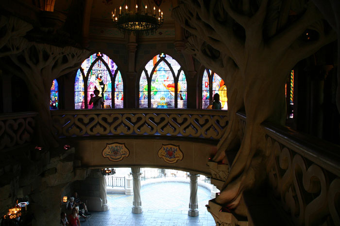 Sleeping Beauty Castle Interior4 Castle DisneyLand Park 18 Aug 2011 (Photo by Gil Dekel) (55)