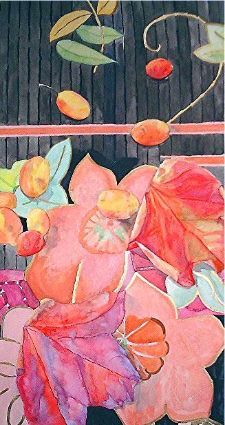 Melanie Chan - Autumn Still Life, 1988.