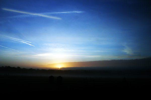 Sky Sun Set, Nature - Photo by Gil Dekel.