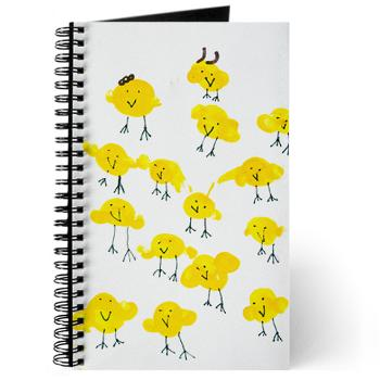 chicks - journal, notebook