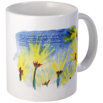 in god's garden - poetry - mug