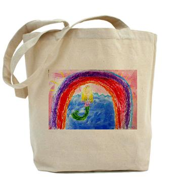 The Rainbow Mermaid - bag
