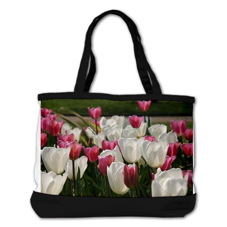 sea of tulips - shoulder bag