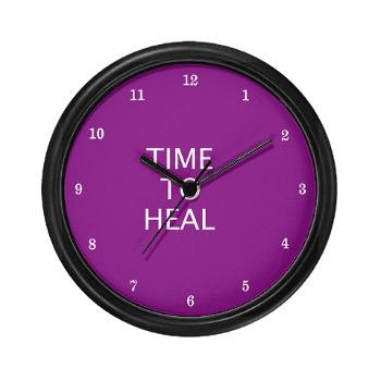 time to heal - clock