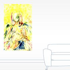 Angel Yofiel - wall decal - By Natalie Dekel