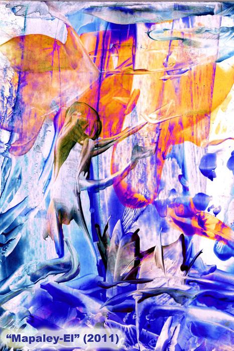 Angel MapaleyEl - by Natalie Dekel, 2011.