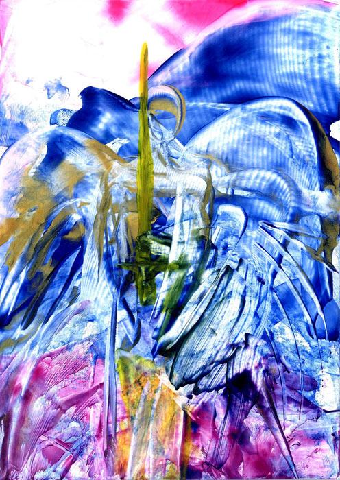 Angel MichaEl - by Natalie Dekel, 2011.