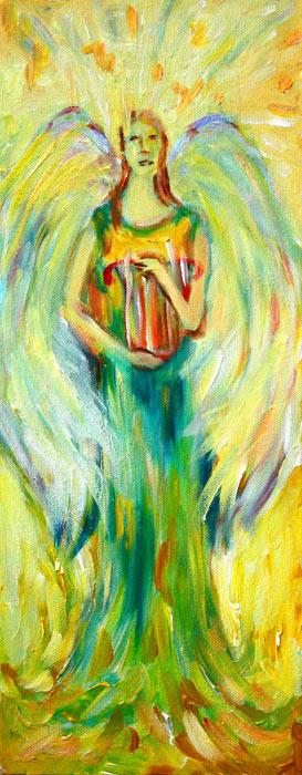 Three Angels #3 – by Natalie Dekel, 2012.
