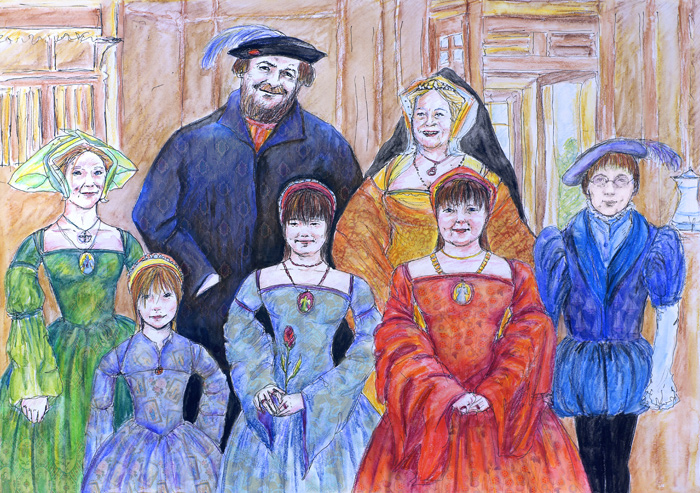 The Rider Family in Tudor Times - by Natalie Dekel, April 2010.