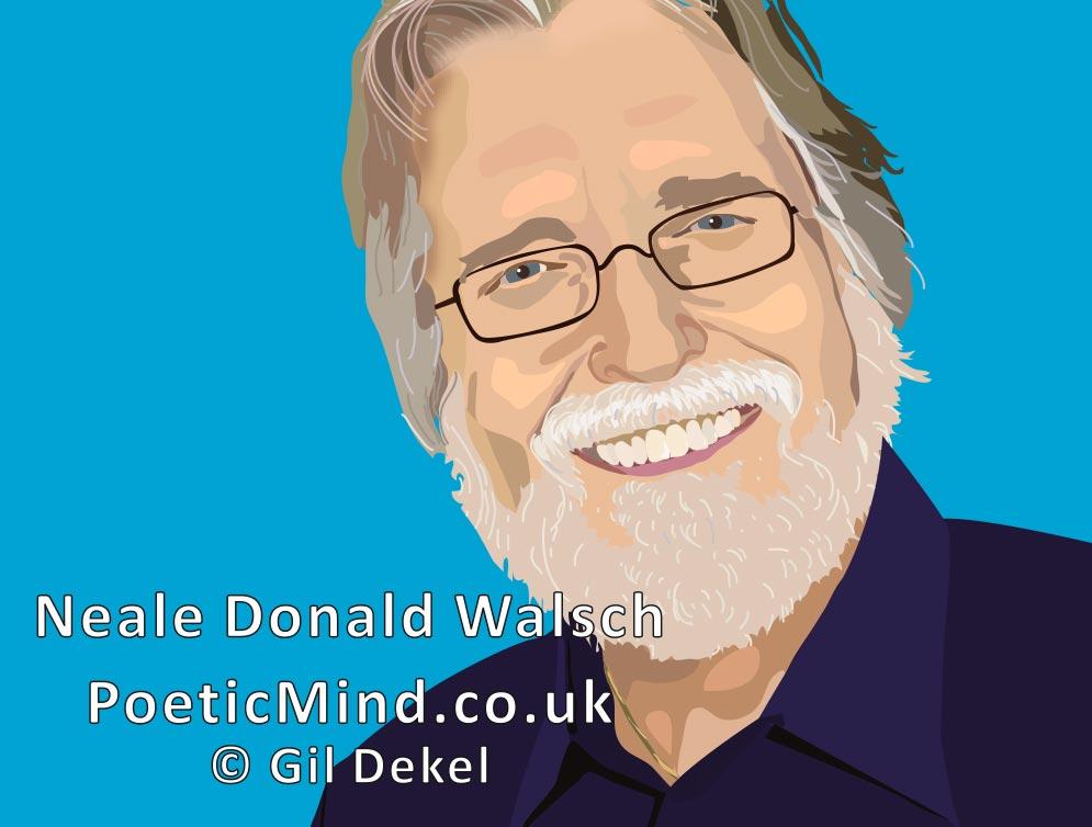 Neale-Donald-Walsch-Portrait5 - by Gil-Dekel