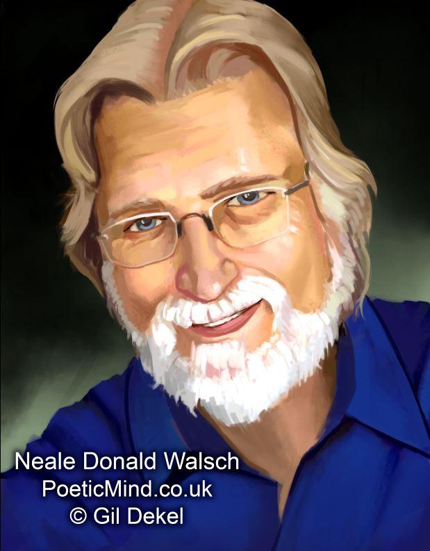 Neale Donald Walsch portrait (© Gil Dekel)
