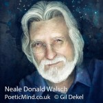 Portrait of Neale Donald Walsch (copyrights © Dr. Gil Dekel)‎