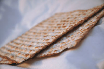 Matza מצה for passover. Photo by Fllickr/ paurian. License CC BY 2.0