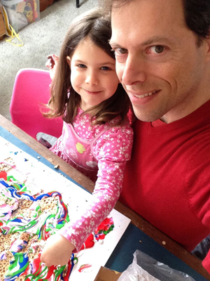 Matza Art with Dr. Gil Dekel - a creative way to use Passover Pesach Matzot.