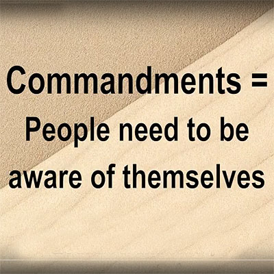 Shavuot – what is the meanings of the Ten Commandments?