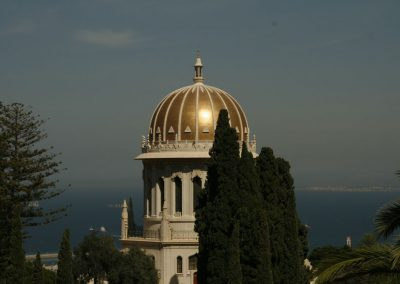 Bahá'í World Centre. Haifa, Israel. (Photo: Gil Dekel, 2015).