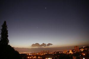 Night in Haifa, Israel. (Photo: Gil Dekel, 2015).