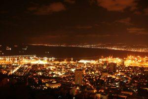 View from Mount Carmel. Haifa, Israel. (Photo: Gil Dekel, 2015).