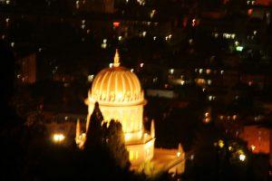 Golden dome of the Bahá'í World Centre. Haifa, Israel. (Photo: Gil Dekel, 2015).