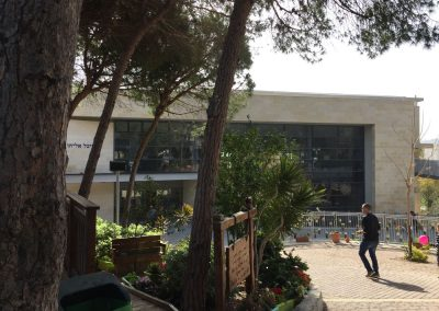 College (High School) in Haifa, Israel. (Photo: Gil Dekel, 2019).