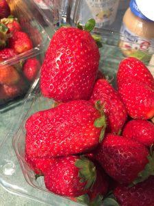 Red strawberries. (Photo: Gil Dekel, 2019).