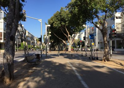 Tel-Aviv in the morning. Israel. (Photo: Gil Dekel, 2019).