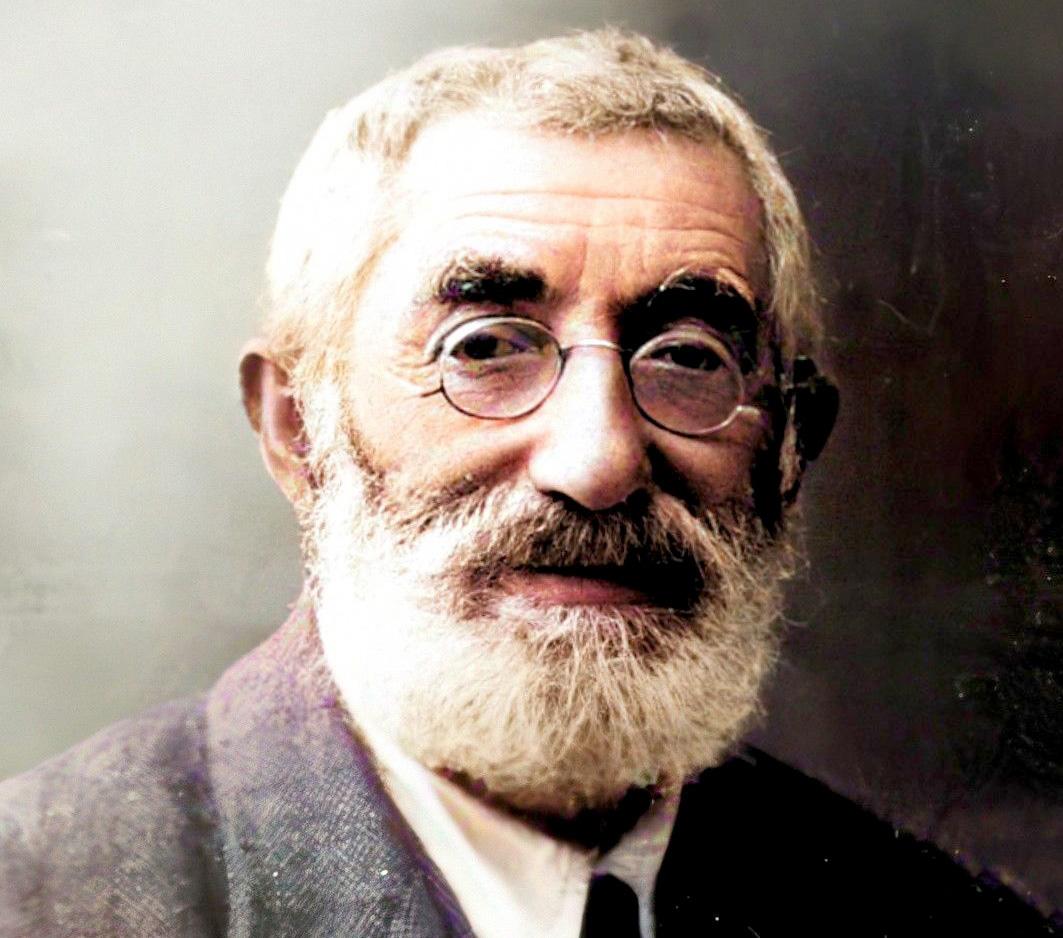 Efraim Zvi Charlap - portrait photo